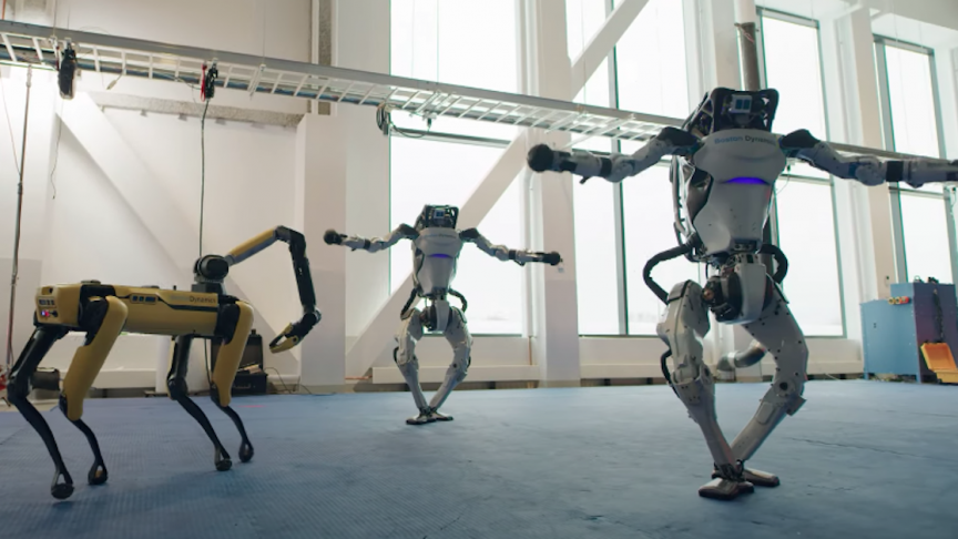 Boston Dynamics Do you love me song